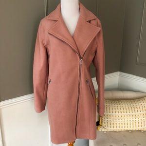 Wool Moto Coat